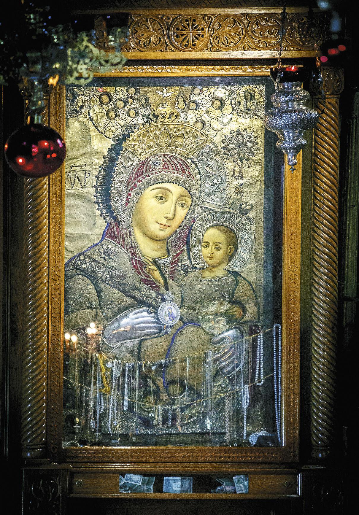 Вифлеемская икона божьей фото